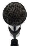 Microphone close up Royalty Free Stock Photo