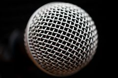 Microphone close up Royalty Free Stock Image
