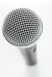 Microphone Closeup Royalty Free Stock Photo