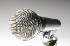 Microphone Closeup Stock Image