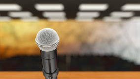 Microphone Closeup Stock Images