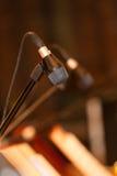 Microphone closeup Stock Image