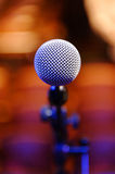 Microphone at Concert Stock Image
