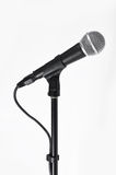 Microphone with a cord Stock Images