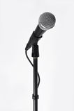 Microphone with a cord Royalty Free Stock Photo