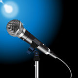 Microphone cord vector 2 Royalty Free Stock Image