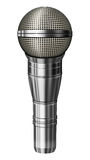 Microphone – 3D illustration Stock Images