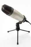 Microphone d'isolement Photographie stock