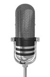 Microphone d'isolement Images libres de droits