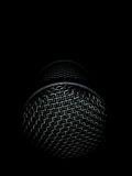 Microphone in The Dark Royalty Free Stock Photo