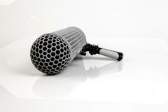 Microphone de boom Photo libre de droits
