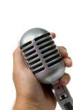 Microphone de cru Photo libre de droits