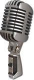 Microphone de cru Photos stock