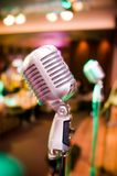 Microphone de vintage image stock