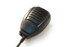 Microphone de l'émetteur-récepteur par radio Photographie stock