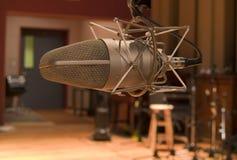 Microphone de studio Photo stock