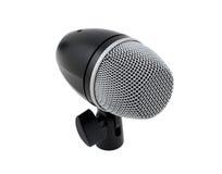 Microphone de tambour Photo libre de droits