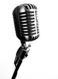 Microphone de vintage images stock