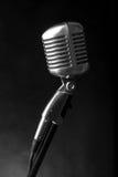 Microphone de vintage image libre de droits
