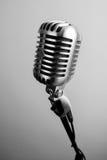 Microphone de vintage images libres de droits