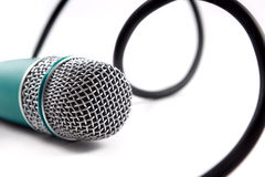 Microphone detail. Microphone close up image.Karaoke and music background stock photos