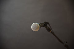 Microphone dynamique images stock