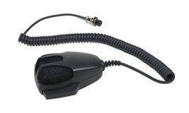 Microphone et câble de main Photographie stock libre de droits