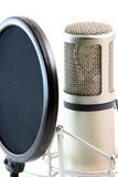 Microphone filter Royalty Free Stock Photos