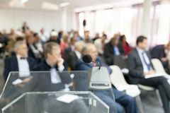 Business or professional conference. Corporate presentation. Royalty Free Stock Images