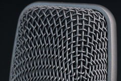 Microphone grille Stock Photos