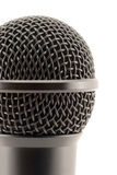Microphone head. Fragment. Close-up Stock Photo