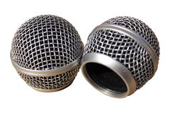 Microphone head Royalty Free Stock Photos