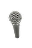 Microphone high angle close up isolated on white Stock Images