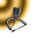 Microphone illustration Stock Images