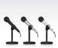 Microphone illustration Stock Photo