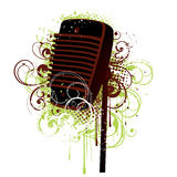 Microphone Illustration Royalty Free Stock Photo