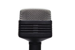 Microphone. Isolate on white background stock photo
