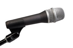 Microphone isolated Stock Photos