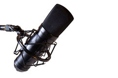 Microphone_isolated Stock Photo