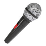 Microphone. Isolated render on a white background Royalty Free Stock Images