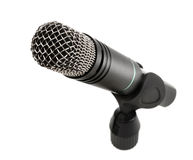 Microphone isolated on white Stock Photography