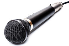 Microphone isolated. Microphone on a White Background Royalty Free Stock Photography