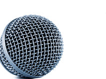 Microphone. Isolated on white background Royalty Free Stock Image