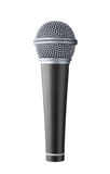 Microphone. Isolated on white background Stock Image