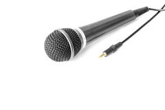 Microphone isolated on white background Stock Image