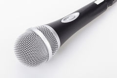 Microphone isolated on the white background. Speaker concept royalty free stock photos