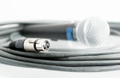 Microphone jack Stock Images