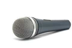 Microphone for karaoke. Isolated on a white background Royalty Free Stock Photography
