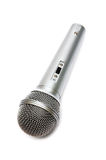Microphone for a karaoke Stock Image