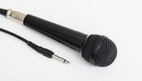 Microphone for Karaoke. Royalty Free Stock Photo